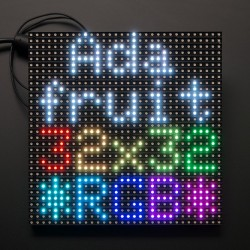 32x32 RGB LED Matrix Panel - 6mm pitch