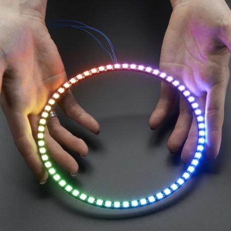 NeoPixel 1/4 60 Ring - WS2812 5050 RGB LED w