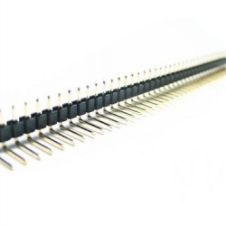 2.54mm Double Bended Male Headers--40Pins