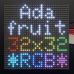 32x32 RGB LED Matrix Panel - 4mm Pitch