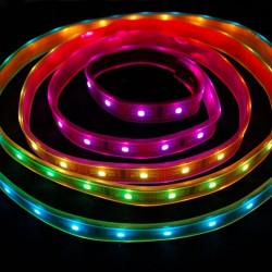 Digital RGB LED Weatherproof Strip - 1meter