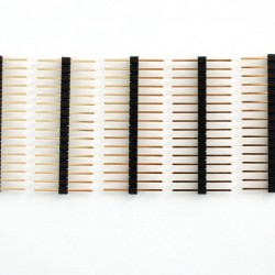 "Extra-long break-away 0.1"" 16-pin strip male header (5 pieces)"