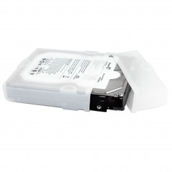 3.5in Silicone Hard Drive Protector Sleeve with Connector Cap