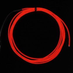 High Brightness Red Electroluminescent (EL) Wire