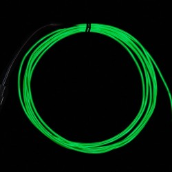 High Brightness Green Electroluminescent (EL) Wire