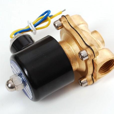 Brass Liquid Solenoid Valve