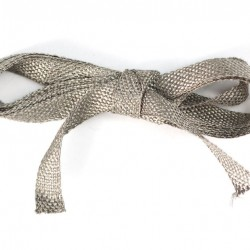 Stainless Steel Conductive Ribbon -5mm wide 1 meter long