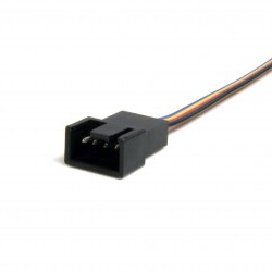 12in 4 Pin Fan Power Splitter Cable - F/M