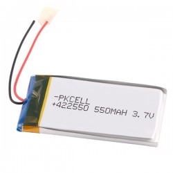 Lithium Ion Polymer Battery 3.7v 550mAh