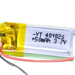 Lithium Ion Polymer Battery 3.7v 50mAh