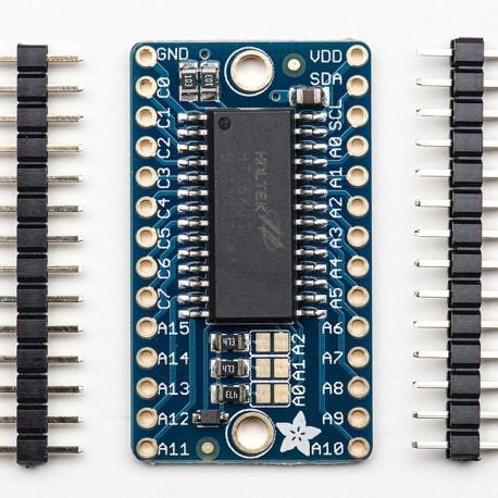 Adafruit 16x8 LED Matrix Driver Backpack - Corzotech