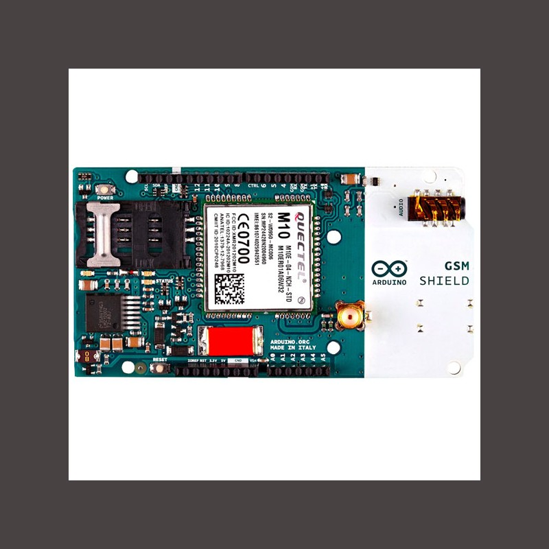 Arduino GSM Shield 2 (integrated antenna) - Corzotech