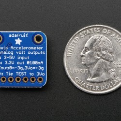 ADXL335 - 5V ready triple-axis accelerometer