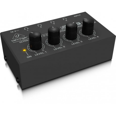 Ultra-Compact 4-Channel Stereo Headphone Amplifier BEHRINGER