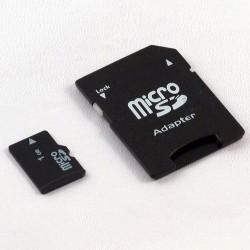 Micro SD card 4GB with SD adaptor