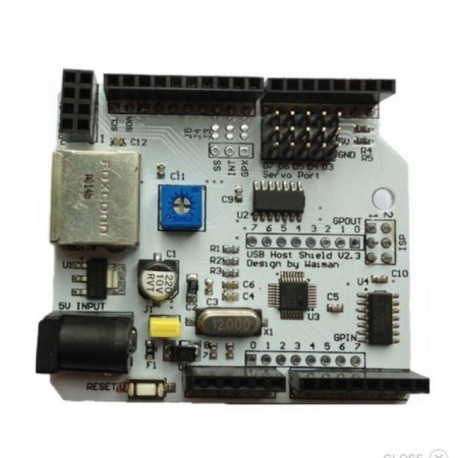 USB Host Android ADK Shield V2.3