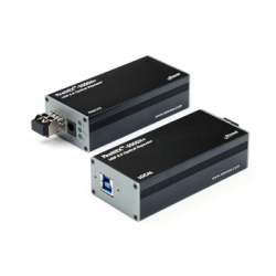 FireNEX™-5000H+ 2-Port USB 3.0/2.0/1.1 Optical Fiber Repeater for Microsoft Azure Kinect